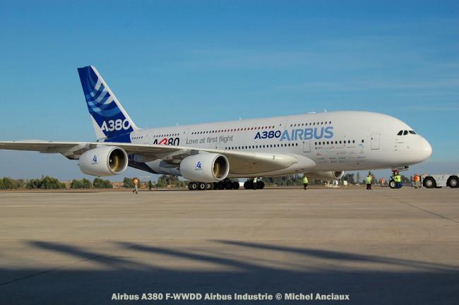 013 Airbus A380 F-WWDD Airbus Industrie © Michel Anciaux