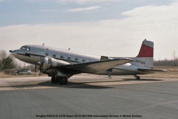 021 Douglas R4D-8 (C-117D Super DC-3) N973SN Intercoastal Airways © Michel Anciaux