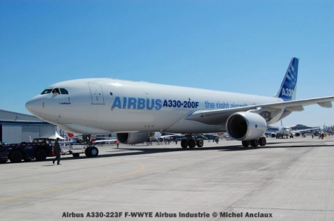 027 Airbus A330-223F F-WWYE Airbus Industrie © Michel Anciaux