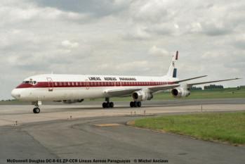03 McDonnell Douglas DC-8-61 ZP-CCR Lineas Aereas Paraguay © Michel Anciaux