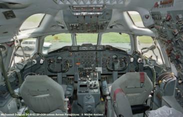 04 McDonnell Douglas DC-8-61 ZP-CCR Lineas Aereas Paraguay © Michel Anciaux