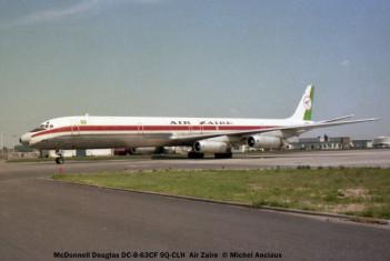 05 McDonnell Douglas DC-8-63CF 9Q-CLH Air Zaire © Michel Anciaux