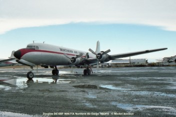 054 Douglas DC-6BF N867TA Northern Air Cargo © Michel Anciaux