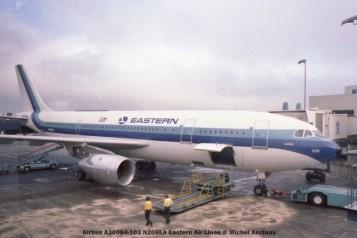 06 Airbus A300B4-103 N208EA Eastern Air Lines © Michel Anciaux