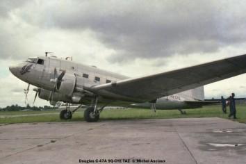 06 Douglas C-47A 9Q-CYE TAZ © Michel Anciaux
