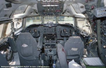 06 McDonnell Douglas DC-8-63CF 9Q-CLH Air Zaire © Michel Anciaux
