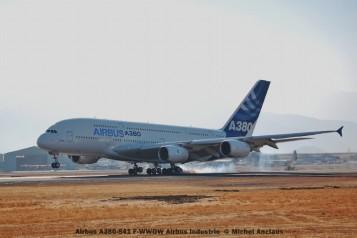 068 Airbus A380-841 F-WWOW Airbus Industrie © Michel Anciaux
