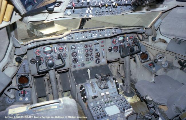 07 Airbus A300B1 OO-TEF Trans European Airlines © Michel Anciaux