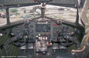 07 Douglas C-47A 9Q-CYE TAZ © Michel Anciaux