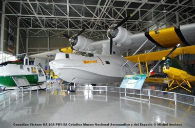 070 Canadian Vickers OA-10A PBY-5A Catalina Museo Nacional Aeronáutico y del Espacio © Michel Anciaux