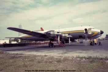 075 Douglas DC-7BF N750Z La Mancha Air Inc. © Michel Anciaux