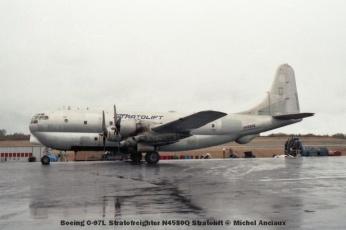 08 Boeing C-97L Stratofreighter N4580Q Stratolift © Michel Anciaux