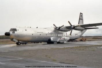 085 Douglas C-133A Cargomaster N199AB Cargomaster Corp. © Michel Anciaux