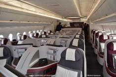 091 Cabin Of Airbus A350-941 A7-ALD Qatar © Michel Anciaux