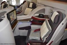 093 Cabin of Airbus A350-941 A7-ALD Qatar © Michel Anciaux