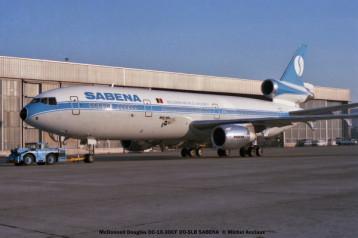 17 McDonnell Douglas DC-10-30CF OO-SLB SABENA © Michel Anciaux