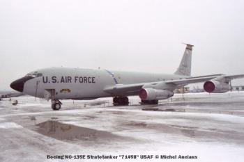 19 Boeing KC-135E Stratotanker ''71458'' USAF © Michel Anciaux
