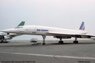2 Aerospatiale BAC Concorde 101 F-BVFC Air France © Michel Anciaux