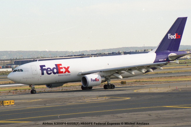 23 Airbus A300F4-605R(F) N650FE Federal Express © Michel Anciaux