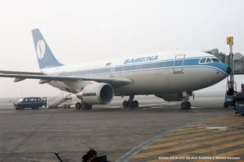 23 Airbus A310-222 OO-SCA SABENA © Michel Anciaux