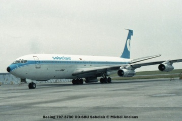 25 Boeing 707-373C OO-SBU Sobelair © Michel Anciaux