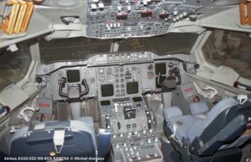 26 Airbus A310-222 OO-SCA SABENA © Michel Anciaux