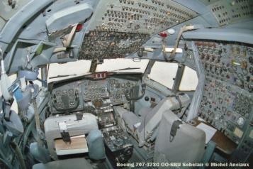 27 Boeing 707-373C OO-SBU Sobelair © Michel Anciaux