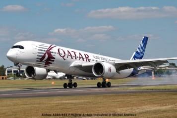 306 Airbus A350-941 F-WZNW Airbus Industrie © Michel Anciaux