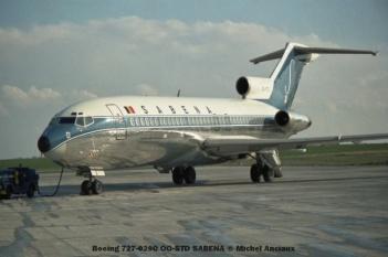 34 Boeing 727-029C OO-STD SABENA © Michel Anciaux