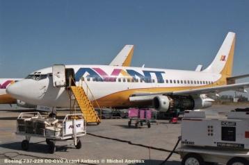 36 Boeing 737-229 CC-CVC Avant Airlines © Michel Anciaux