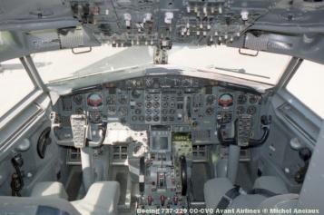 37 Boeing 737-229 CC-CVC Avant Airlines © Michel Anciaux