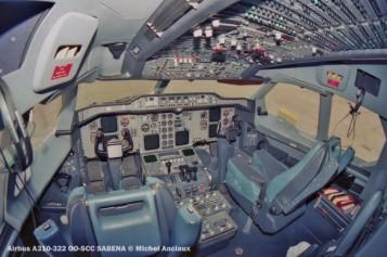 48 Airbus A310-322 OO-SCC SABENA © Michel Anciaux