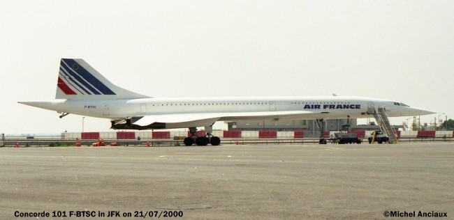 5 Aerospatiale BAC Concorde 101 F-BTSC Air France © Michel Anciaux