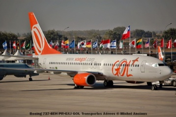 53 Boeing 737-8EH PR-GXJ GOL Transportes Aéreos © Michel Anciaux