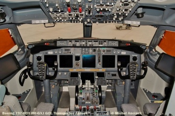 54 Boeing 737-8EH PR-GXJ GOL Transportes Aéreos © Michel Anciaux