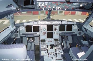 56 Airbus A319-112 OO-SSA SABENA © Michel Anciaux
