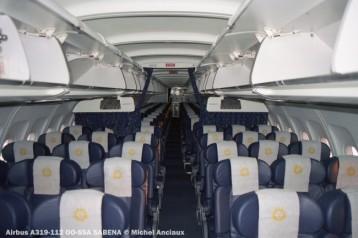 57 Airbus A319-112 OO-SSA SABENA © Michel Anciaux