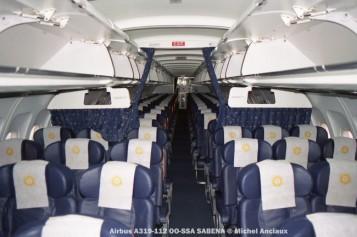 58 Airbus A319-112 OO-SSA SABENA © Michel Anciaux