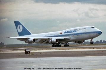 64 Boeing 747-329SCD OO-SGC SABENA © Michel Anciaux