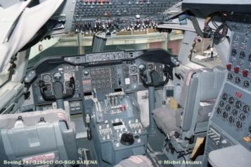 67 Boeing 747-329SCD OO-SGC SABENA © Michel Anciaux