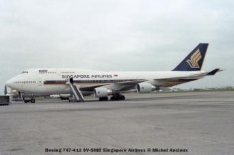 71 Boeing 747-412 9V-SMB Singapore Airlines © Michel Anciaux
