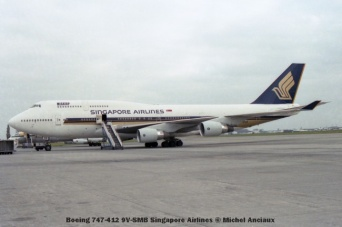 71 Boeing 747-412 9V-SMB Singapore Airlines © Michel Anciaux