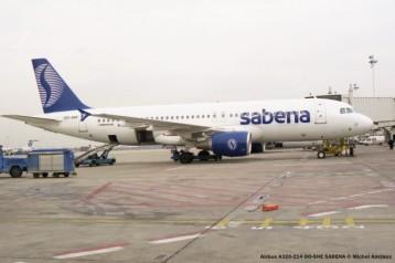 72 Airbus A320-214 OO-SNE SABENA © Michel Anciaux