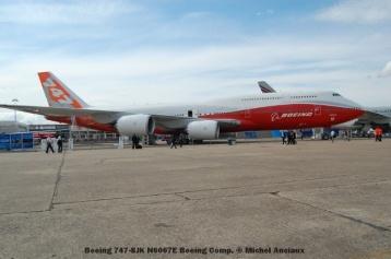 73 Boeing 747-8JK N6067E Boeing Comp. © Michel Anciaux