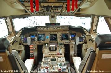 74 Boeing 747-8JK N6067E Boeing Comp. © Michel Anciaux