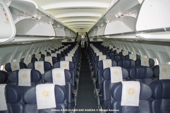 76 Airbus A320-214 OO-SNE SABENA © Michel Anciaux