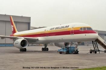 76 Boeing 757-23A OO-ILI Air Belgium © Michel Anciaux