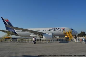77 Airbus A320-271N(SL) NEO CC-BHG LATAM Chile © Michel Anciaux