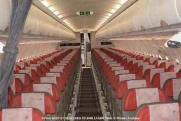 82 Cabin of Airbus A320-271N (SL) NEO CC-BHG © Michel Anciaux