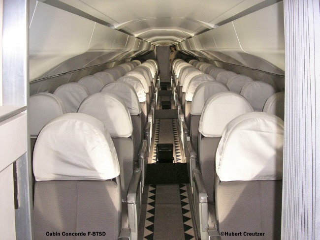 9 Cabine Concorde F-BTSD Air France © Hubert Creutzer